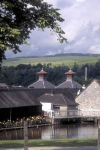 Glen Fiddich Distillery, Dufftown, Grampian, Scotland.