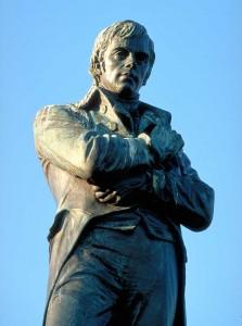 BUrns monument, scotland