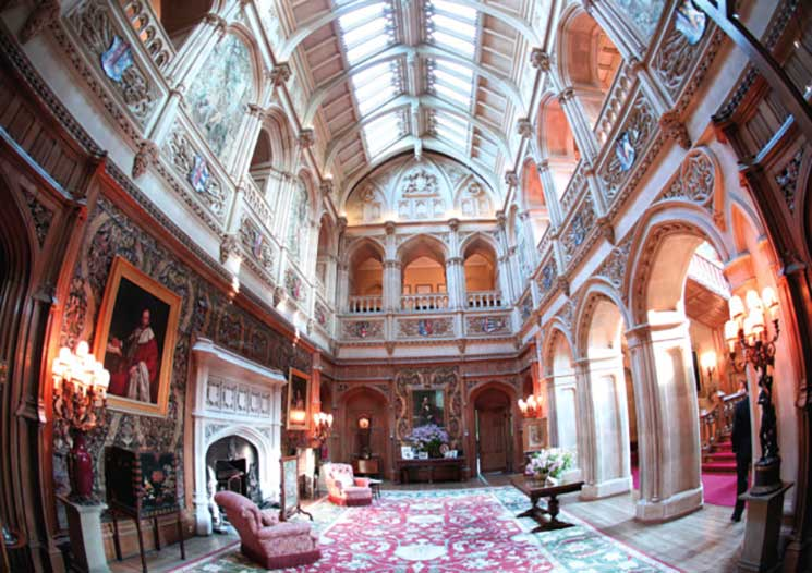 Inside Highclere Castle, the real
