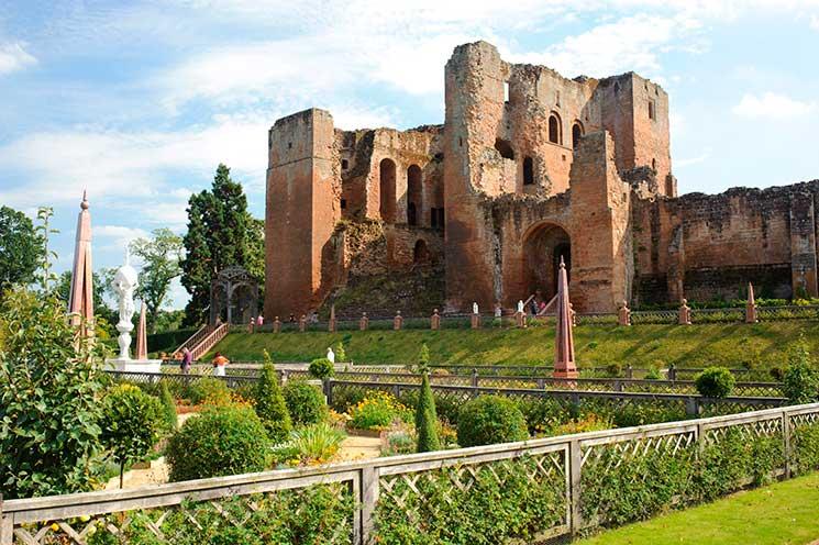 Kenilworth Castle Elizabeth I Tudir