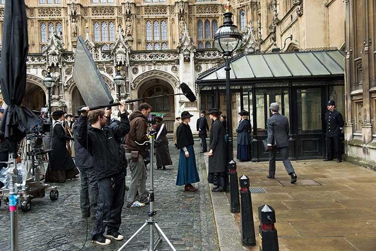 Filming-Suffragette-external-2[3] Credit: ©UK Parliament / Steffan Hill
