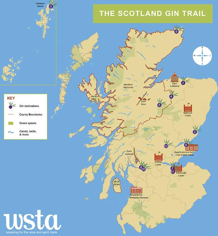 gin tour scotland