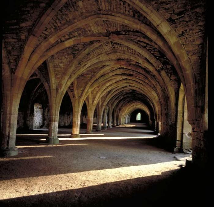 Fountain Abbey, Yorkshire