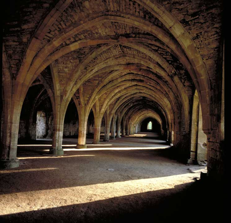Fountain Abbey, Yorkshire