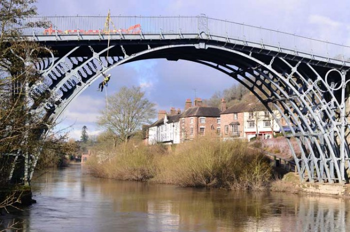 Iron Bridge, Shropshire, English Heritage