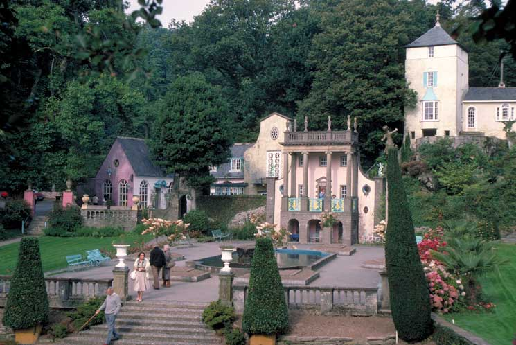 Portmeirion, Wales, Welsh wonders