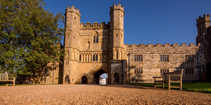 The Great Gatehouse at Battle Abbey, East Sussex, which will be the focal point of the 950th anniversary of the Battle of Hastings in 2016. Credit: English Heritage