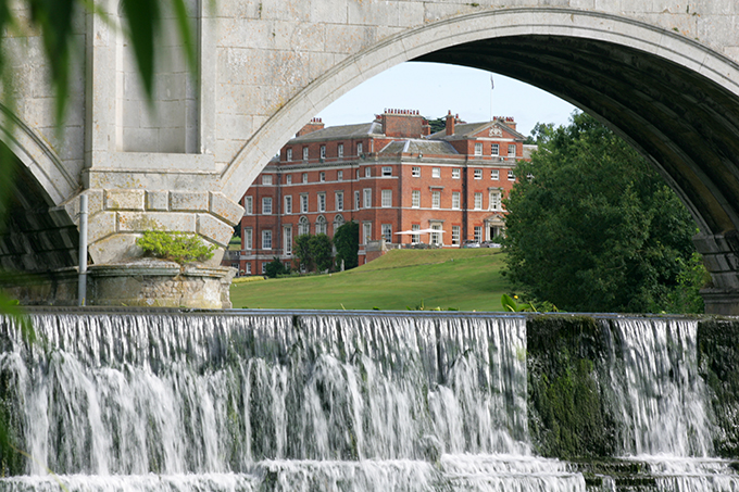 Brocket Hall in Hertfordshire was the home of Lady Caroline Lamb