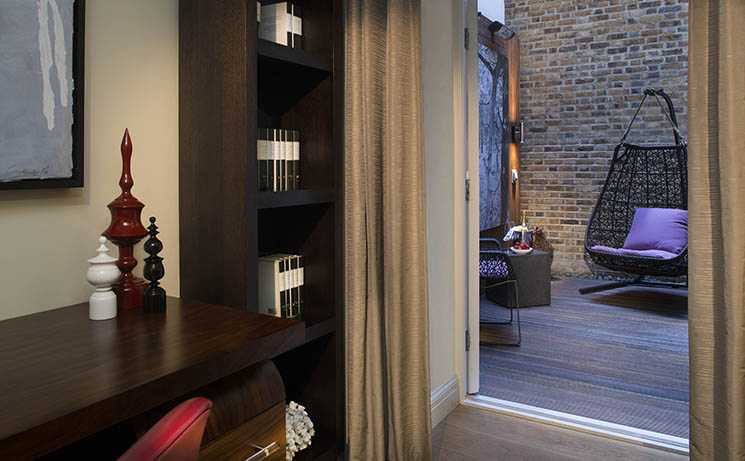 Courtyard Suite, The Arch London. Credit The Arch