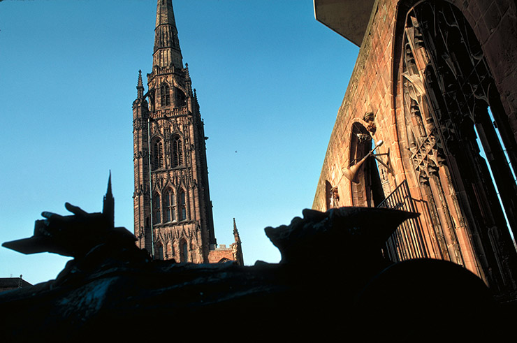 Cathedral, Coventry, West Midlands, England.