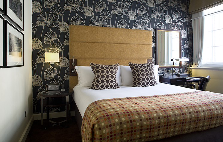 Guestroom, The Arch London. Photography must be credited to The Arch London