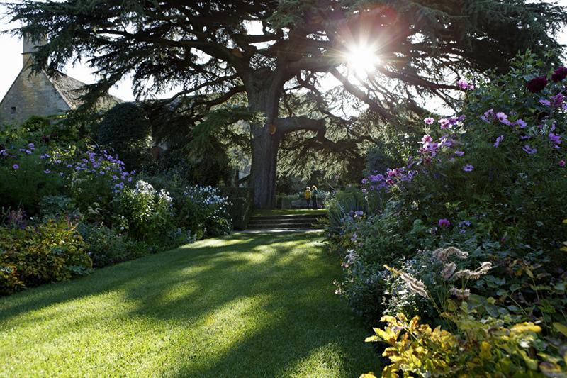 The Old Garden at Hidcote Manor Garden, Gloucestershire.
