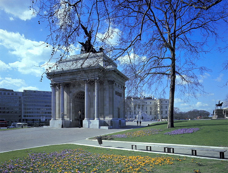 The Arch is short walk away from Hyde Park. Credit: VisitBritain/Britain on View