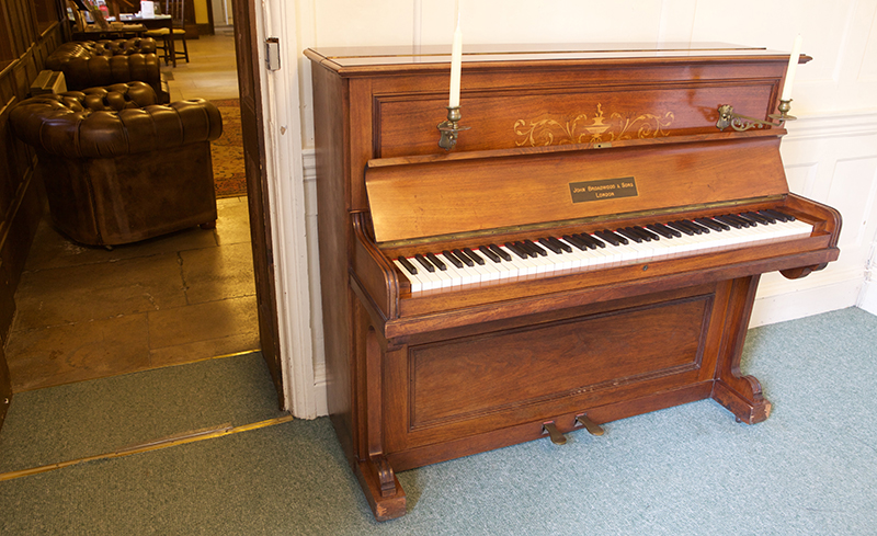Vaughan Williams' piano on display at Leith Hill Place. Credit: National Trust/Richard Mogridge