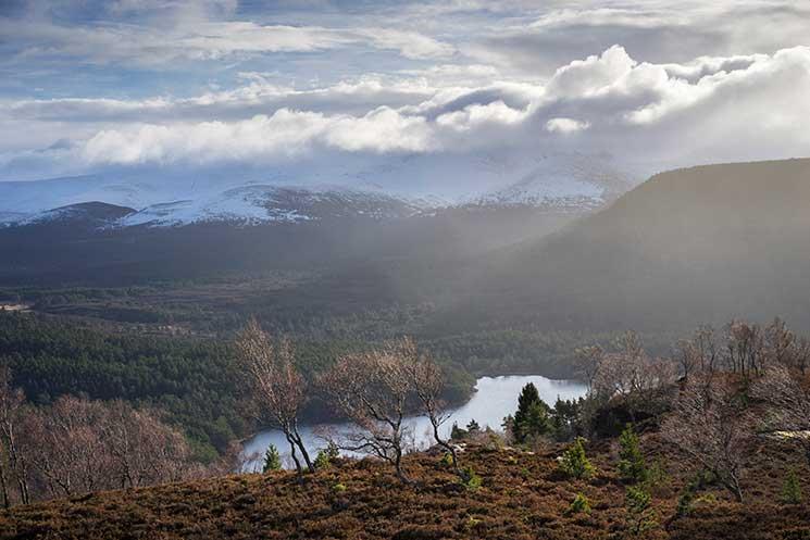 Loch an Eilein, cairngorms, scotalnd