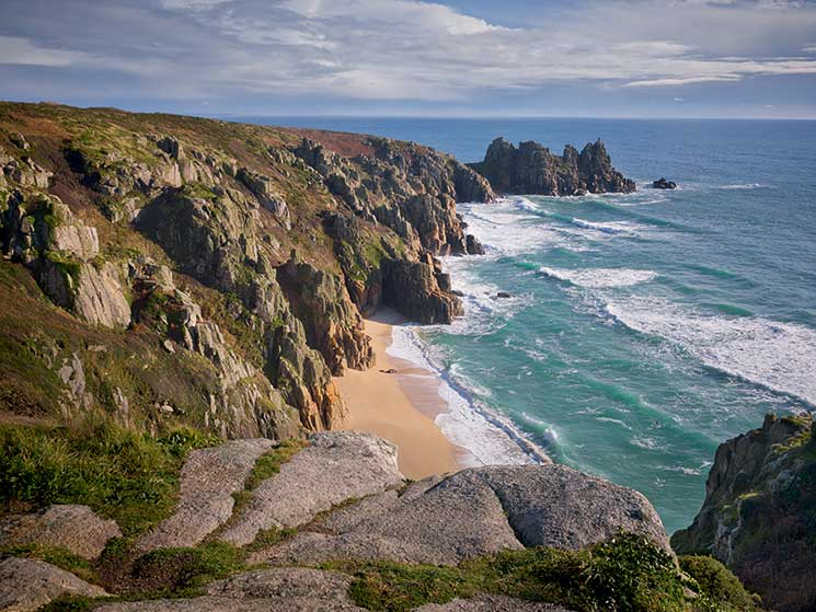 LOgan rock, Cornwall