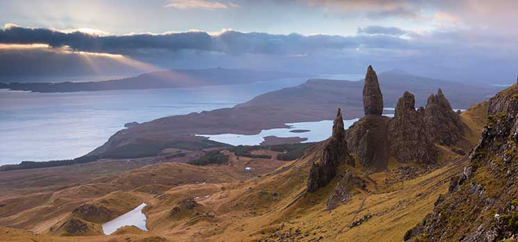 Skye, scotland, Trotternish, storr