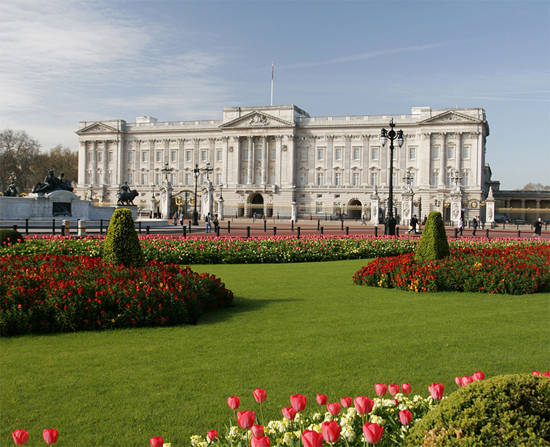 Buckingham Palace. Credit: VisitBritain/Graeme Purdy