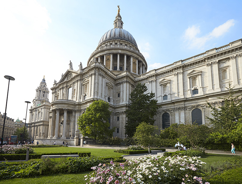 St Paul's Cathedral which was built after the Restoration. Credit: VisitEngland