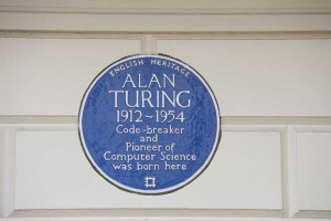 London, blue plaques, alan turin