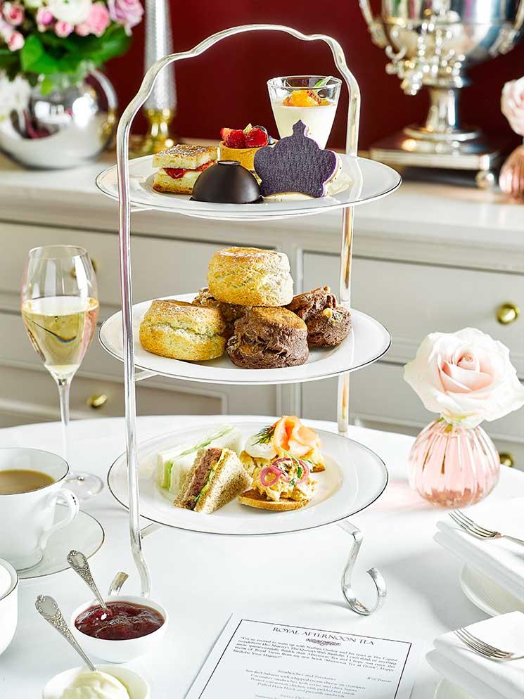 Royal afternoon tea, the capital lonson