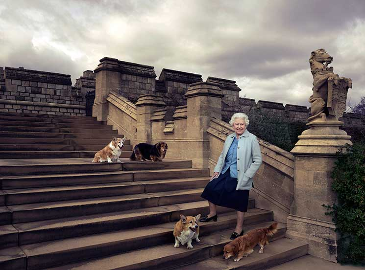 queen, windsor castle, birthday