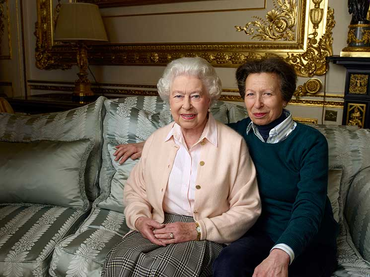 queen, princess royal, windsor castle