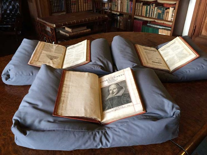 first folio, mount stuart house, bute, scotland