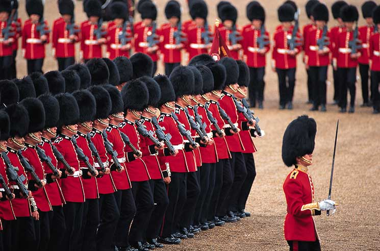 HOrse GUards Parade Trooping The Colour Queen London