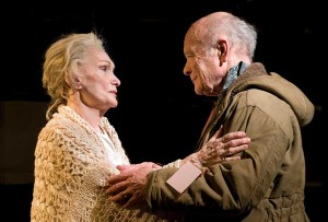 Sian Phillips and Michael Byrne - Juliet and her Romeo 2010, credit Simon Annand