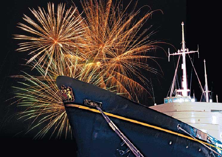Royal Yacht Britannia, wuuen