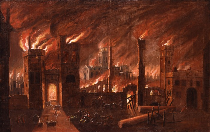 Great Fire of London, Museum of London