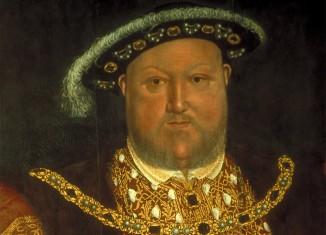 Henry VIII, father of Elizabeth I