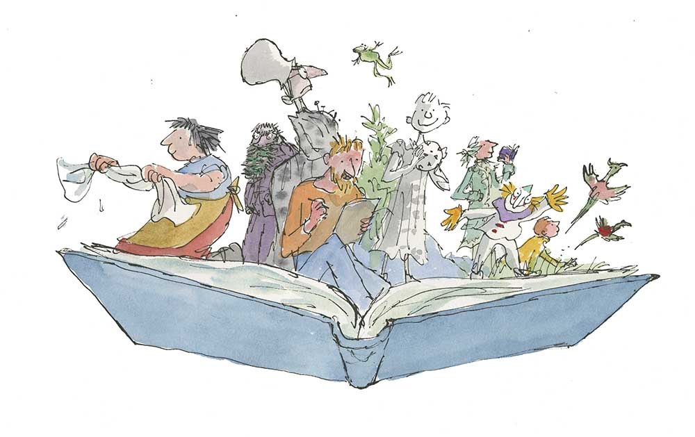 Image result for roald dahl quentin blake illustrations