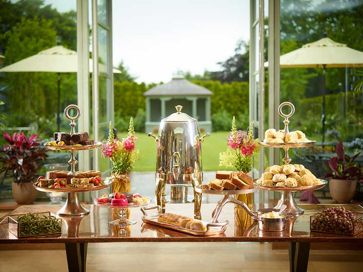 Dormy House, afternoon tea, cotswolds