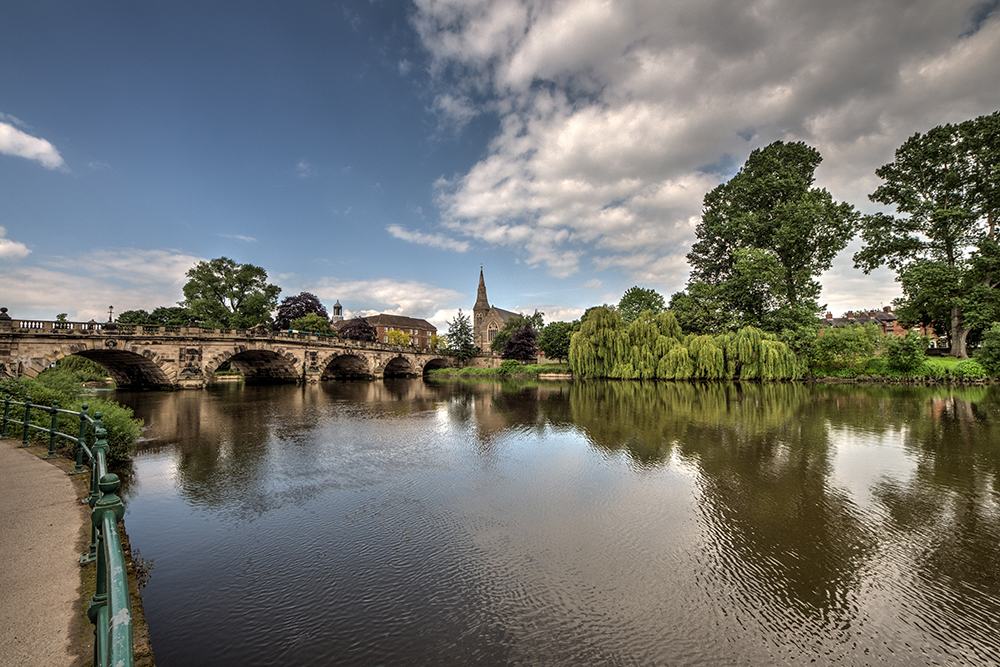 English Bridge, Shrewsbury