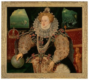 The Armada portrait, queen, Elizabeth I