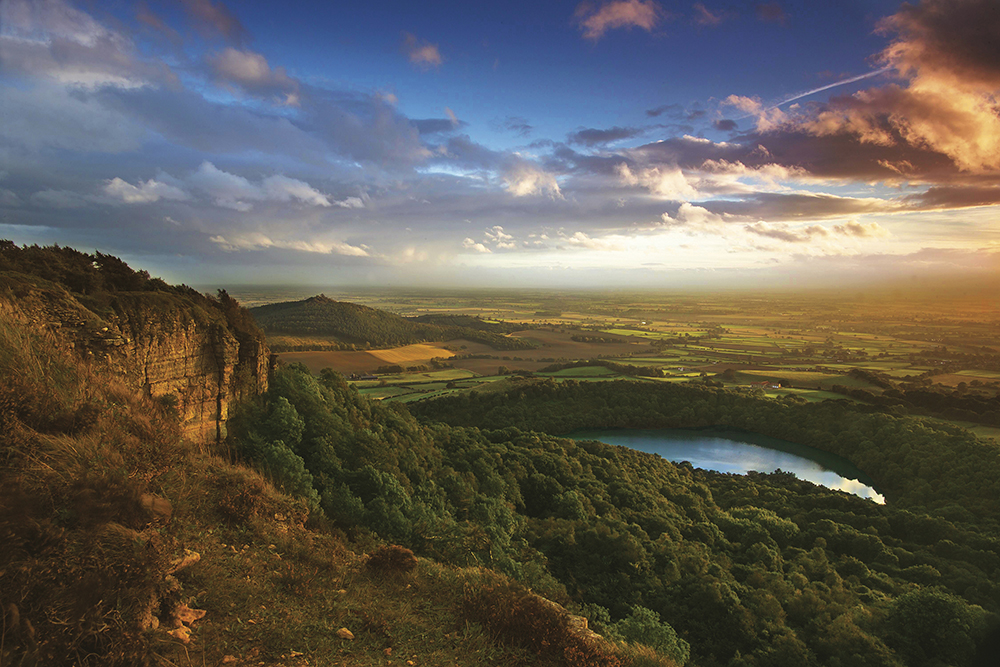 Sutton Bank, North York Moors, North Yorkshire