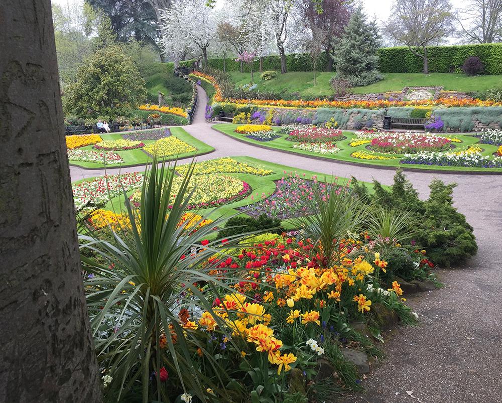 Quarry Gardens, Shrewsbury