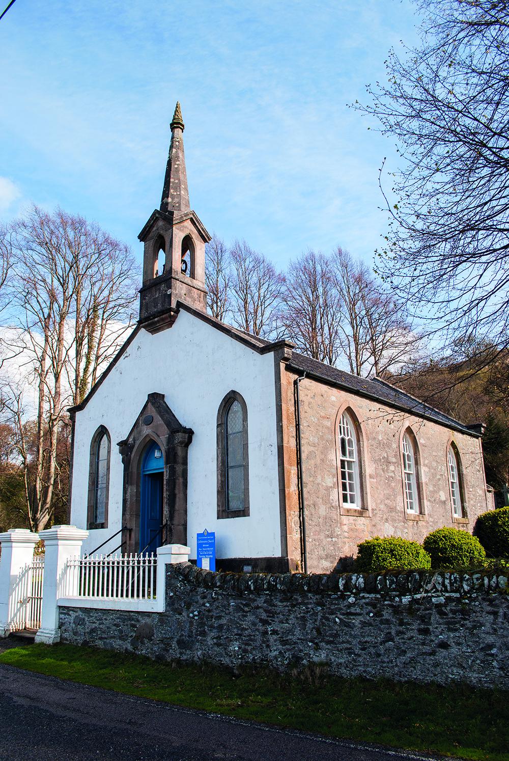 Colintraive Church, Colintraive, Scotland, churches