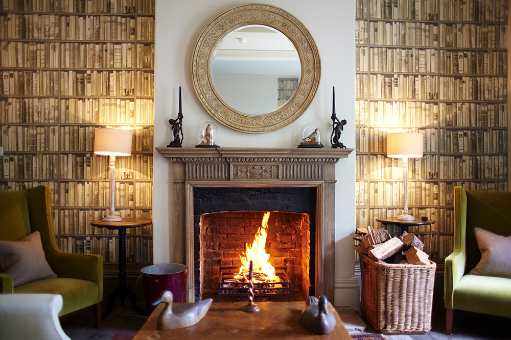 The Pig, Hampshire, winter warmer