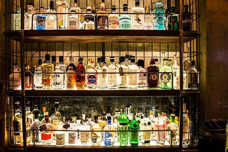 Holborn Dining Room's Gin Bar