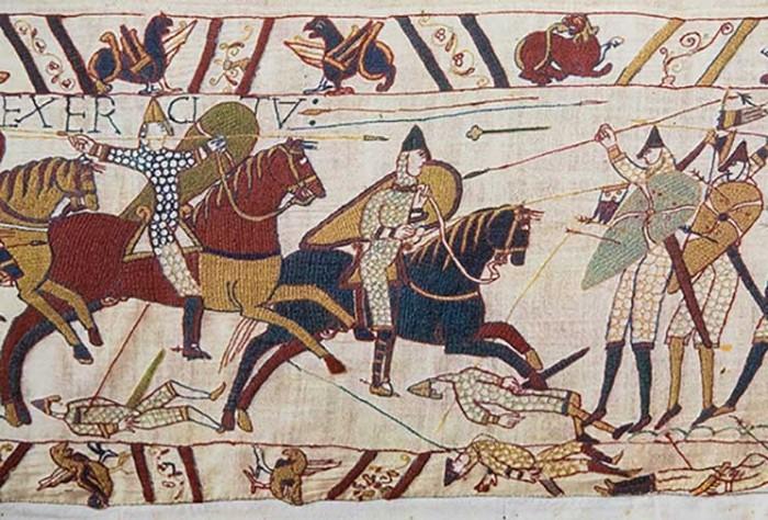 The Bayeux Tapestry, Battle of Hastings