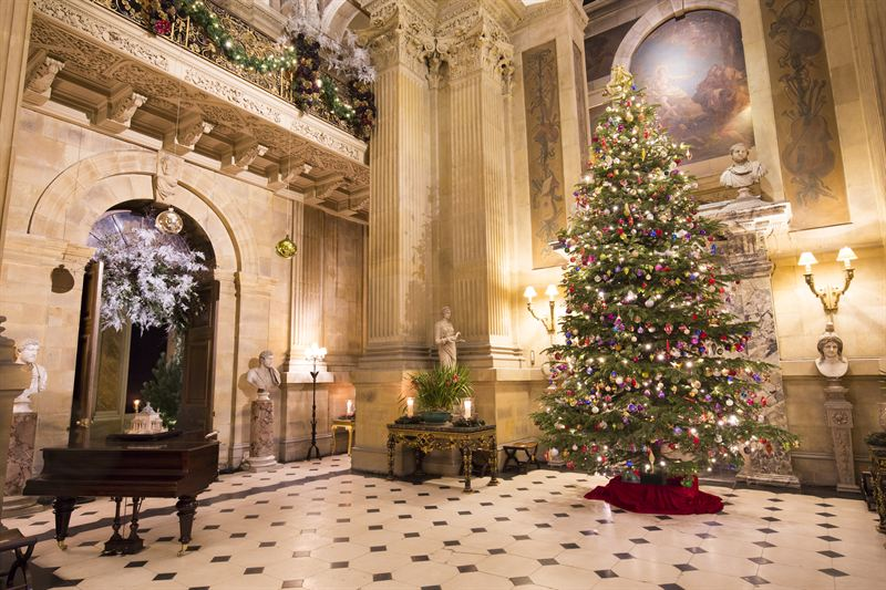 Christmas in the Great Hall at Castle Howard