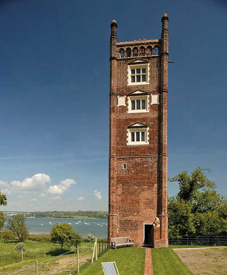 Suffolk's Freston Tower