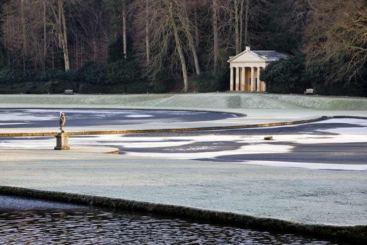 Studley Royal Water Garden, North Yorkshire