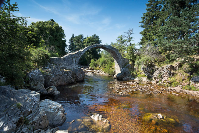 Carrbridge, Scotland.