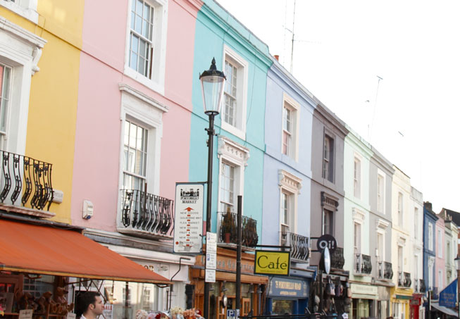 Portobello Road, Notting Hill, London