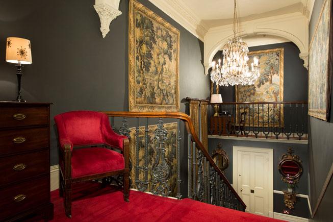 The elegant The Gore Hotel, London
