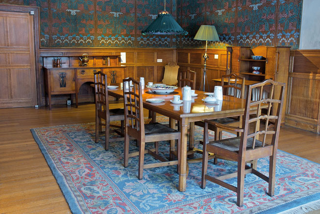 Dining room of Blackwell, Cumbria